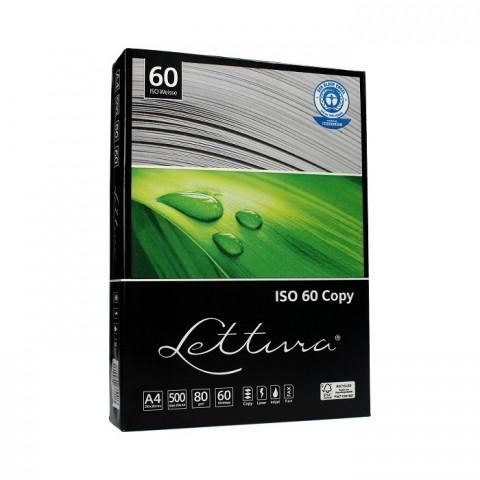 Hartie reciclata marca Lettura, A4, 80 g/mp