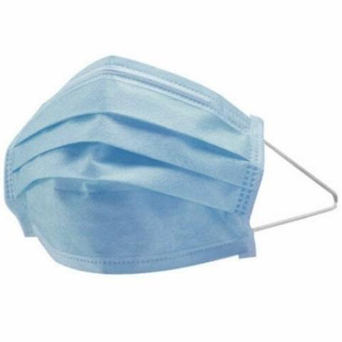 Masca protectie faciala, 3 straturi, 3 pliuri, 50 bucati