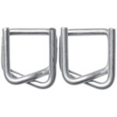 Cleme metalice pentru legat banda PES, 16mm