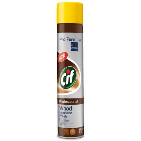 Cif, spray pentru curăţarea lemnului, 400 ml