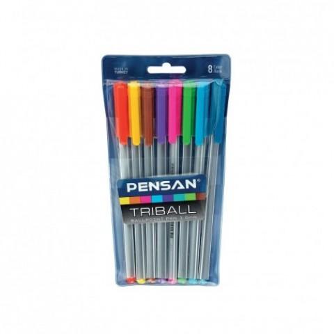 Pix Triball color, 8 bucati, Pensan
