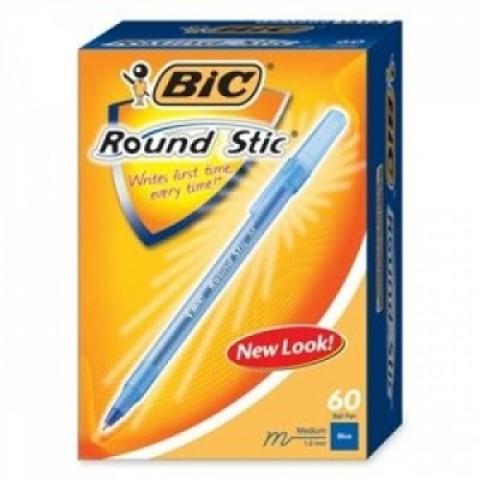 Pix Round Stic S, albastru, Bic