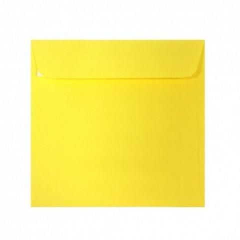 Plic 14x14 cm patrat siliconic, galben, Daco
