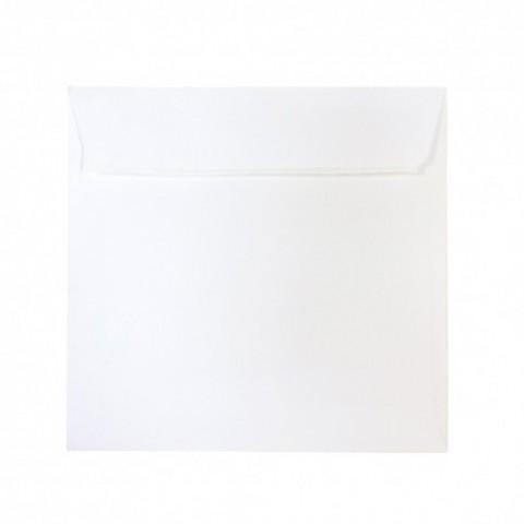 Plic 16x16 cm patrat siliconic, alb, Daco