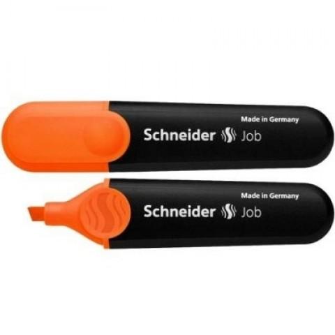 Textmarker portocaliu, Schneider Job