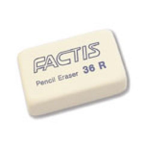 Radiera 36 R, Factis