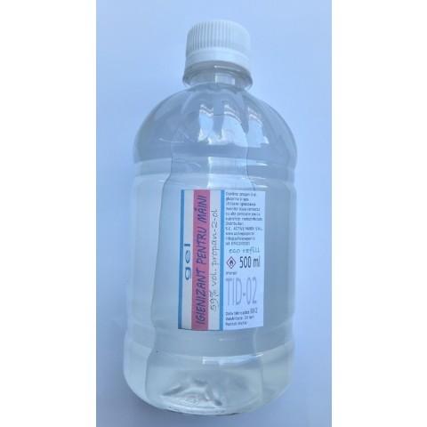 Rezerva gel igienizant pentru mâini, 500 ml