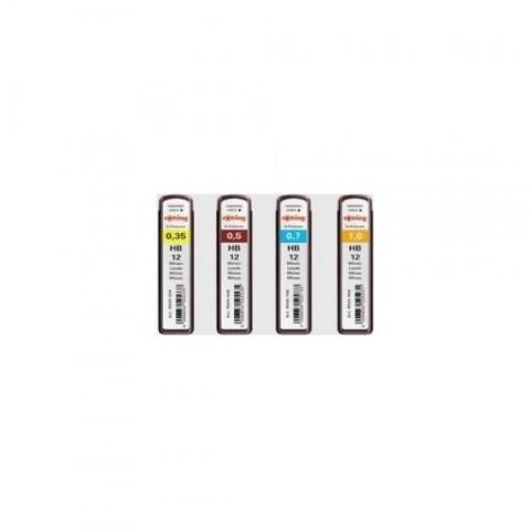 Mina creion mecanic, 0.7mm, 10 buc, HB Rotring