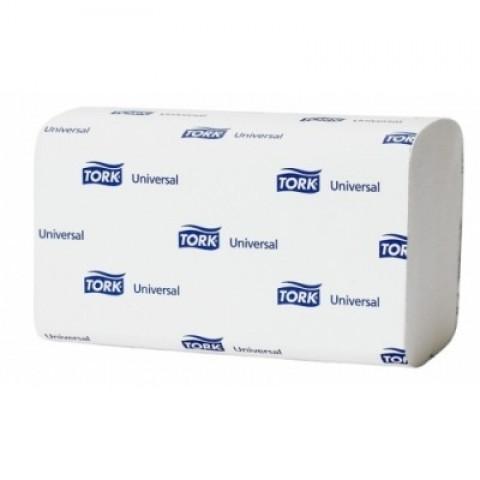 Servetele Z-Fold, albe, 250/pachet, Tork