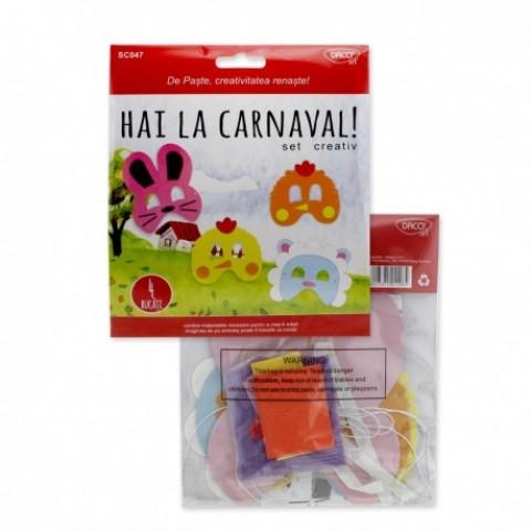 Set creativ, hai la carnaval, Daco