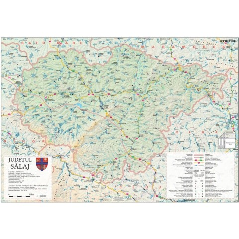 Harta - judeţul SĂLAJ