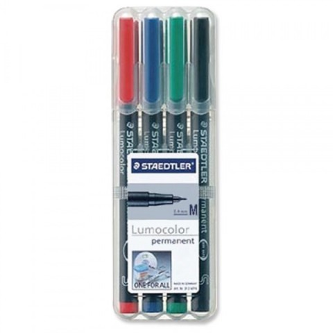 Marker OHP Staedtler Lumocolor M 317WP4 1mm 4/set