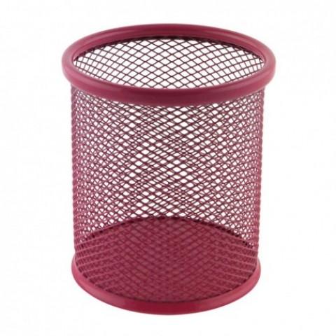 Suport birou cilindric, roz, Ecada