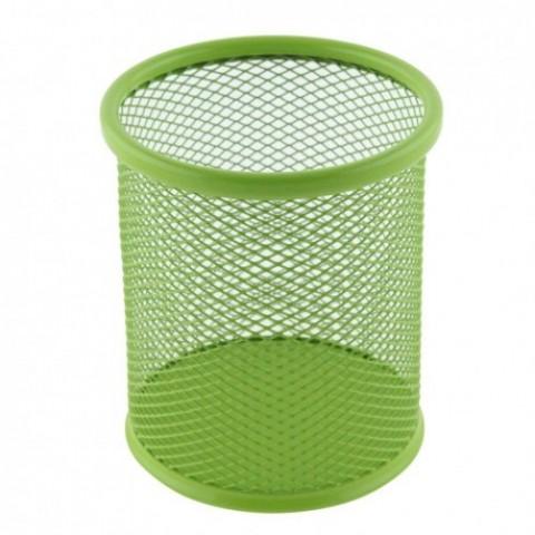 Suport birou cilindric, verde, Ecada