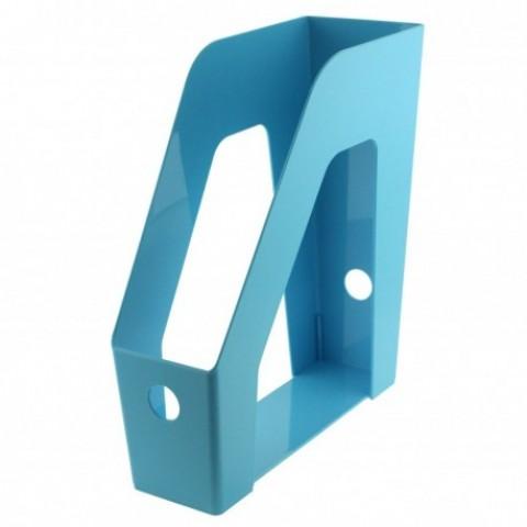 Suport vertical documente, albastru, Ecada
