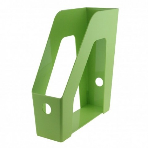 Suport vertical documente, verde, Ecada