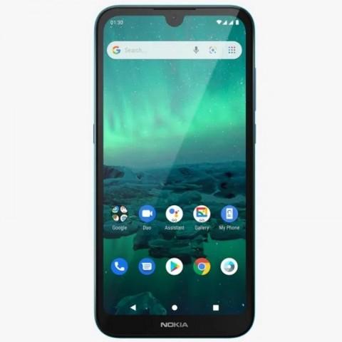 Telefon mobil Dual SIM Nokia 1.3, 16 GB + 1 GB RAM, Cyan