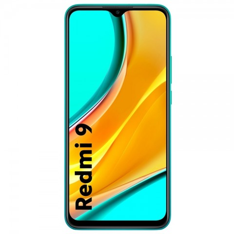 Telefon mobil, Dual SIM, Redmi 9, 64 GB + 4 GB RAM, Ocean Green, Xiaom