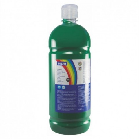Tempera, 1000 ml, verde inchis, Milan