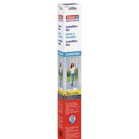 Plasă anti insecte lamelă pentru usă, albă, Tesa, 0.95 m x 2.20 m