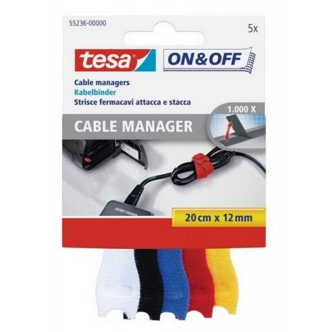On & Off Banda pentru legarea cablurilor Tesa