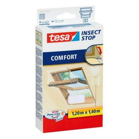 Plasă anti insecte Comfort, ferestrele de acoperis, albă, Tesa, 1.20 m x 1.40 m