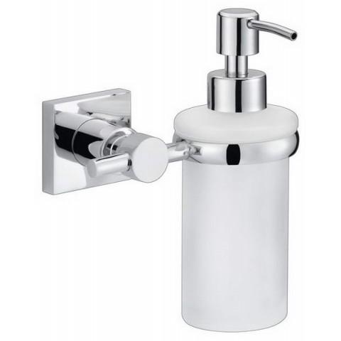 Dozator autoadeziv de perete pentru săpun tesa® Hukk, metal cromat