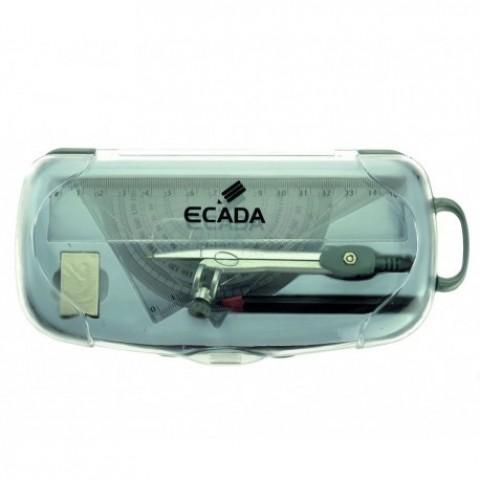 Trusa geometrie plastic, Ecada