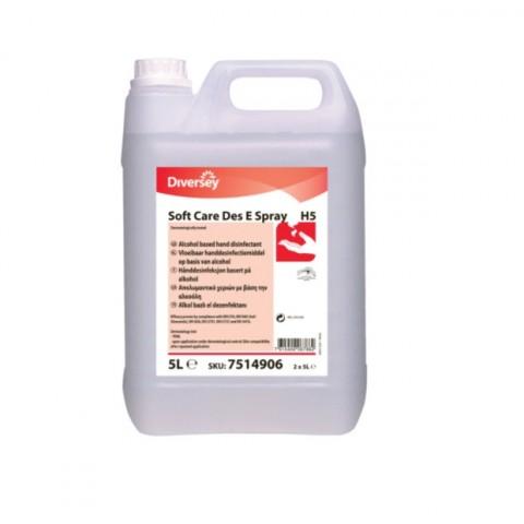Dezinfectant lichid pentru maini SoftCareE Spray, 5L