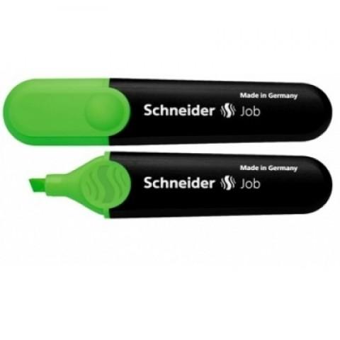 Textmarker verde, Schneider Job