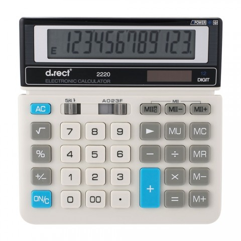 Calculator 12 digiti D.rect 2220