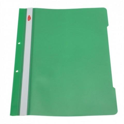 Dosar plastic cu sina, verde inchis, Daco