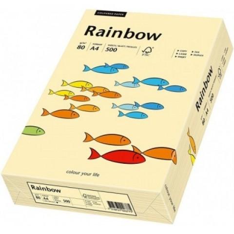 Hartie colorata, Chamois, A4, 160 g/mp, Rainbow