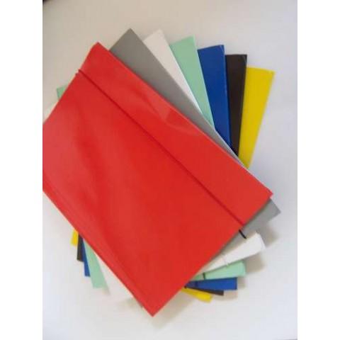 Mapa cu elastic 350 gr, diferite culori set 50 buc