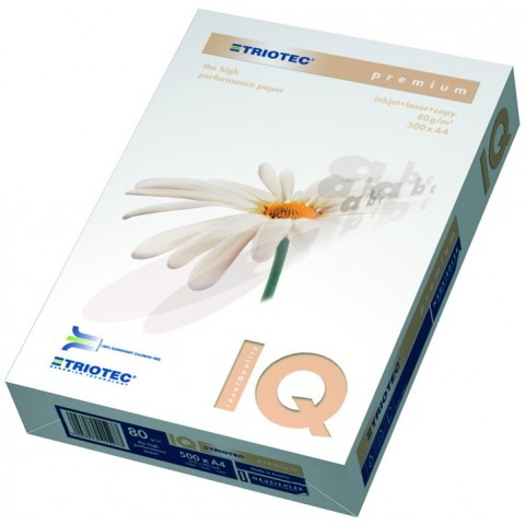 Hârtie Copiator - IQ Trio Premium - format A4 - 160 g/mp