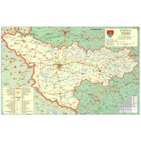 Harta - Judeţe Tipărite Digital