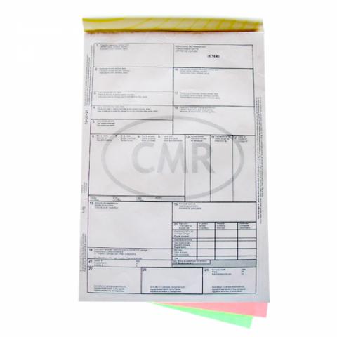 CMR national, personalizat, 3 exemplare