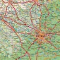 Romania – harta Rutiera