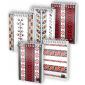 Bloc notes cu spira, A6 80 file matematica, coperta 350g/mp, colectia ETHNO