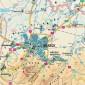 Harta - judeţul BRAŞOV