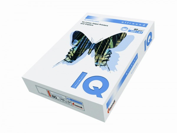 Hârtie Copiator, IQ Allround, format A3, 80 g/mp