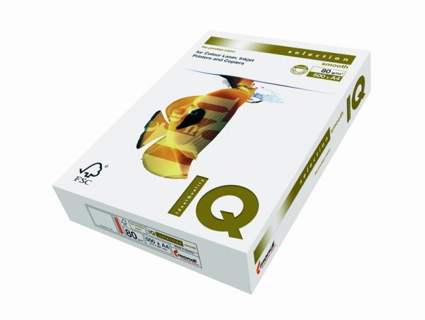 IQ selection smooth - format A3 - 160 g/mp