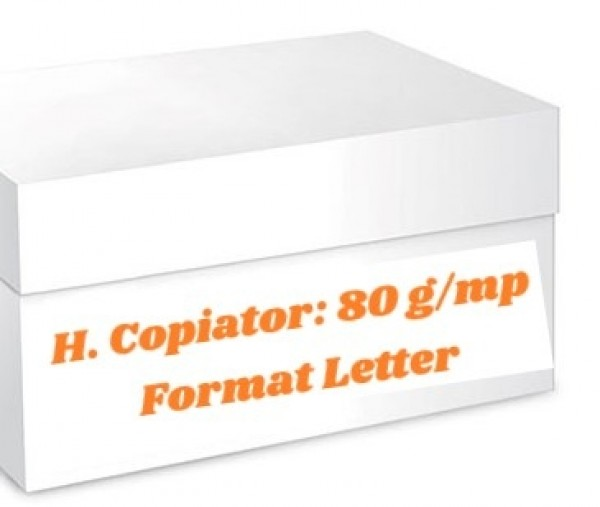 Hartie offset, letter, 80 grame, 4500 coli