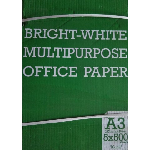 Copy Paper A3, 70 grame/mp, 500 coli/top