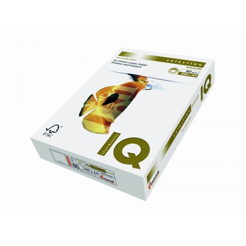 IQ Selection Smooth, format A4, 80 g/mp