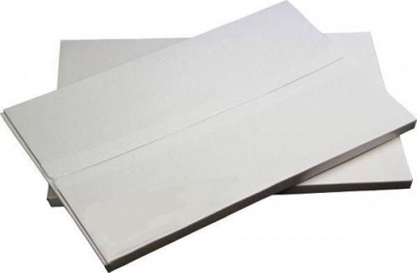 Autocolant mat alb, 60 μ, 140 g/mp, A4, 50 coli