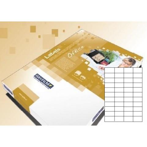 Etichete autoadezive multifuncţionale - 44 buc./A4, dimensiune 48.5x25.4 mm