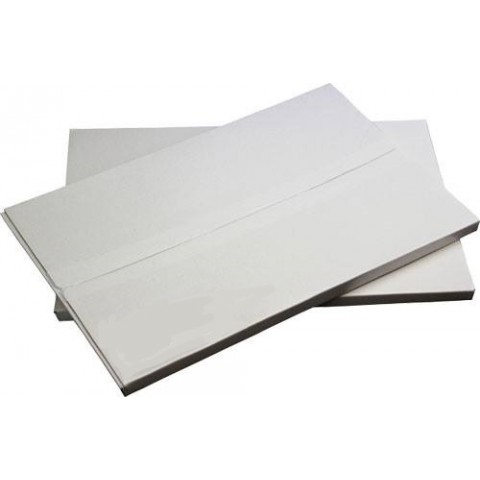 Hartie sintetica, Autocolant mat alb, 60 μ, 236 g/mp, A4, 50 coli