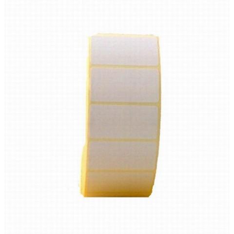 Etichete autoadezive termice în rolă, 76x38 mm