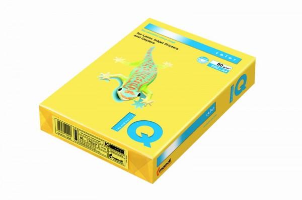 Hartie colorata - Galben canar - A4 - 80 g/mp